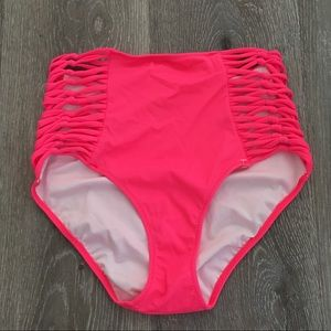 Victoria secrets high waist high cut bikini bottom